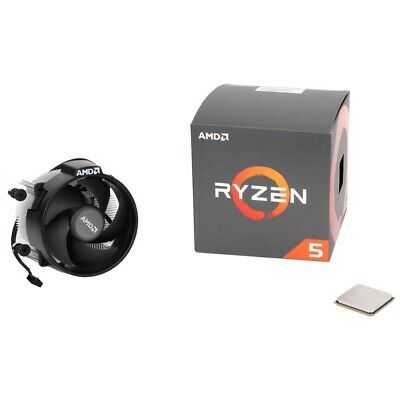 AMD Ryzen 5 2600X 3.6GHz 6 Core AM4 Boxed Processor W/ Wraith Spire Cooler NEW
