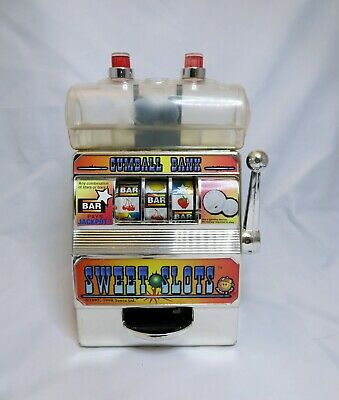 Vintage American Gumball Bank Machine Used Battery Cover Missing. Fully Working