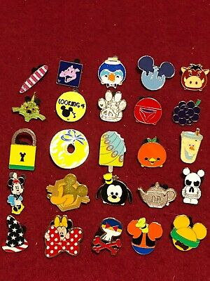 25 Disney pins Assorted Trading C  As Seen Lot x
