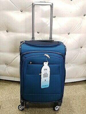 "Samsonite Eco-Nu 21.7"" Expandable softcase Spinner carry on lightweight Luggage"