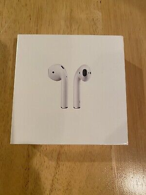 Apple AirPods 2nd Generation with Wireless Charging Case - White FACTORY SEALED