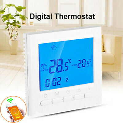 Wifi Smart Termostato Digitale Wireless LCD Display Mobile App Controller Tool
