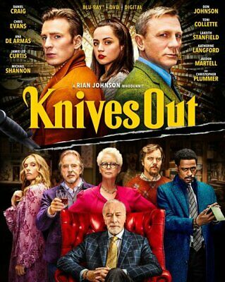 Knives Out Blu-Ray + DVD