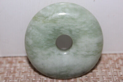 Chinese jade Yongshan culture safety buckle