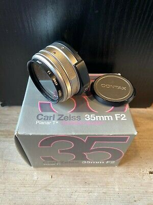 Contax Carl Zeiss Planar 35mm f/2 T* G Lens from Japan
