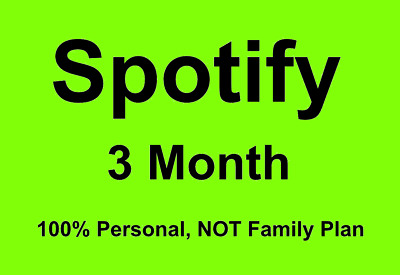 SPOTIFY PREMIUM For 3 Months