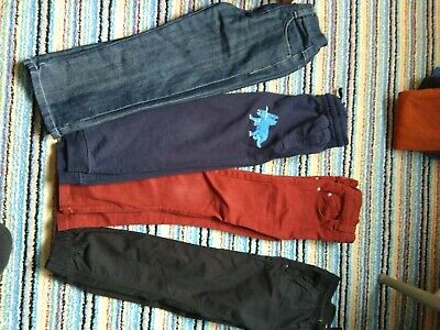 NEXT Blue Zoo Matalan Asda boys trouser bundle age 5-6ys