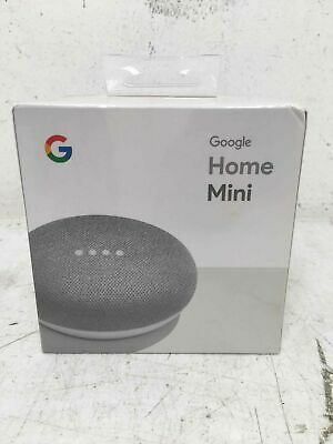 Gray Google Home Mini Smart Speaker With Google Assistant