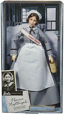 Barbie Inspiring Women Series Florence Nightingale Collectible 12-in Doll - New!