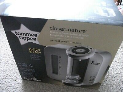 tommee tippee closer to nature perfect prep machine never used