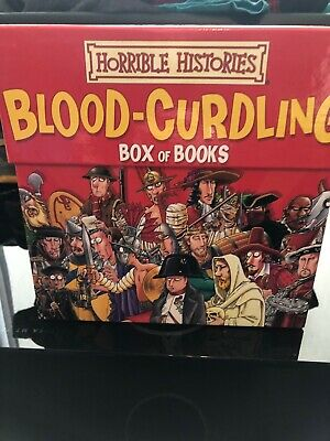 Horrible Histories - Blood Curdling Box Of Books