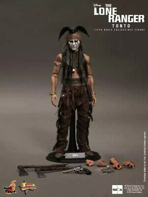 Tonto Lone Ranger Friend 1:6 scale 12in figure Old West Disney Indian doll NRFP