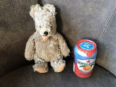 "Steiff Zotty Teddy Bear with Squeaker Working 9"" 23cm  Jointed Bear"