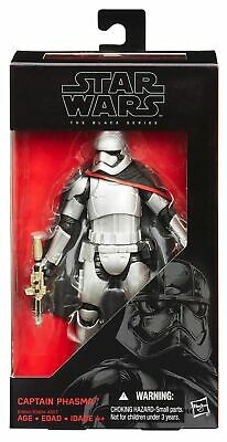 Star Wars The Force Awakens Black Series 6-inch Captain Phasma Figure New in Box