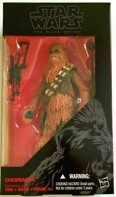 Star Wars The Force Awakens Black Series 6-inch Chewbacca New in Box