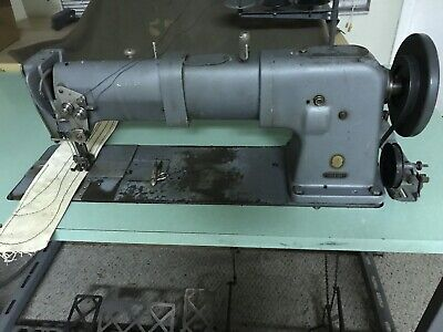 "Singer 145 A 204 Long Arm 20"" Double Needle Industrial Commercial Sewing Machine"