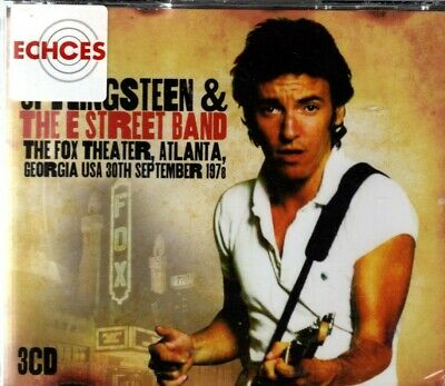 """Bruce Springsteen and The E Street Band -""""Fox Theater"""" - 3CD - NEW - FREE UK P&P"""