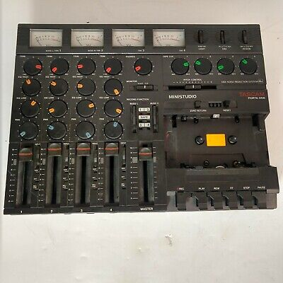 TASCAM Vintage Porta One Ministudio 4-Track Cassette Recorder AS IS