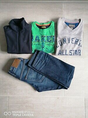Boys Bundle Ted Baker, Converse.Used. Fab Condition. Jeans, TShirt. Aged 8-10.