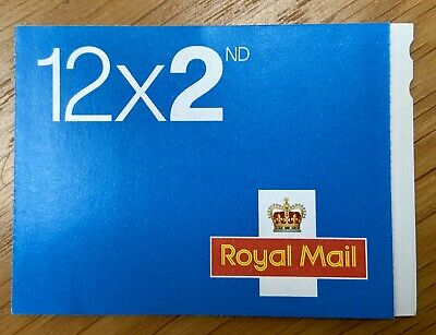 Royal Mail 2nd class Stamps. Book of 12 Letter Stamps. New. Unused.