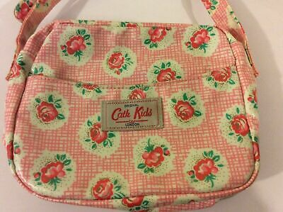 Cath Kidston Kids Girls Small Cross Body Pink Floral Shoulder Bag New No Tag