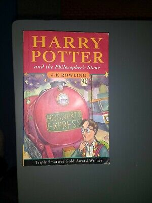Harry Potter and the Philosopher's Stone by J. K. Rowling paperback 1st edition