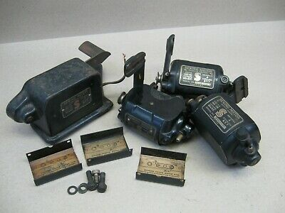 Antique Lot Singer Sewing Machine BT 7 Motors & Controller Working Tested