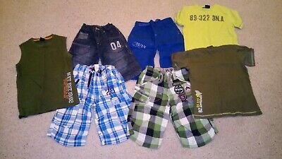 Boys Next Shorts And T-shirts Aged 7 Years