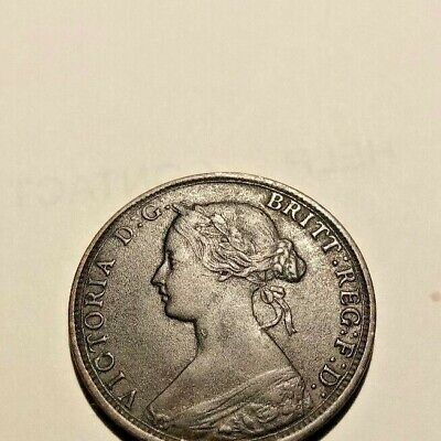 1864  New  Brunswick   1 Cent  Short 6