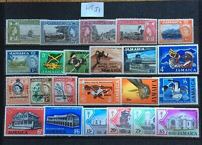 British Commonwealth Jamaica 23  Stamps With Some Sets UM/Mint (Lot J01)