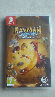 Nintendo Switch Jeu Rayman Legends Definitive Edition Neuf Sous Blister