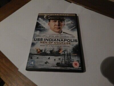 uss indianapolis,men of courage dvd,like new,from my collection