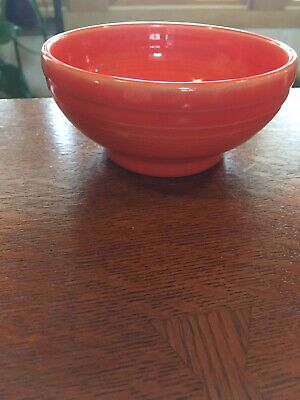 """Fiesta® 1st Quality Small 5"""" Footed (Rice) Bowl - Poppy"""