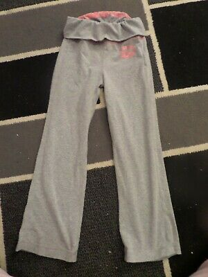 Girls Grey Converse Joggers Size 6-7 Yrs