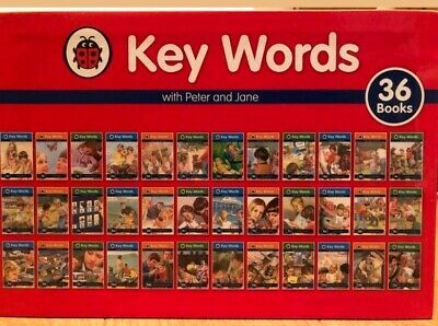 36 Books Collection Key Words with Peter and Jane by Penguin