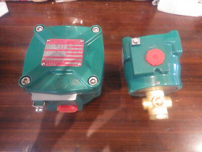 """2x ASCO  NFETE320A184, 1/4"""" EX rated"""