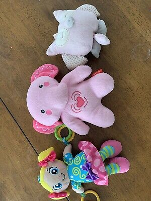 Baby Toy Bundle - Fisher & Price Vibrating Elephant Very New Condition
