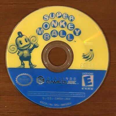 Super Monkey Ball (Nintendo GameCube, 2001) Disc Only - TESTED WORKS!!!