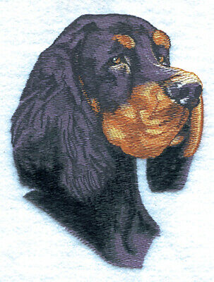 GORDON SETTER  Dog Breed Bathroom SET OF 2 HAND TOWELS EMBROIDERED