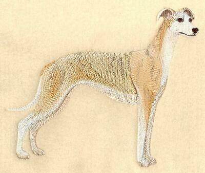 WHIPPET Personalized Embroidered Fleece Stadium Blanket Gift