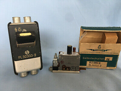 2 AUTOMATIC SWITCHES FROM LUFTWAFFE MESSERSCHMIDT Me Bf 109 & JUNKERS STUKA Ju87