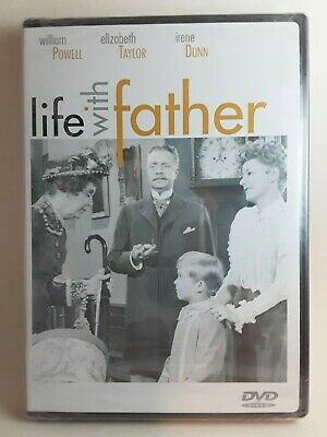 Life With Father 1947 (DVD 2003)☆Liz Taylor, Irene Dunne☆Rare!☆New☆Free Shipping