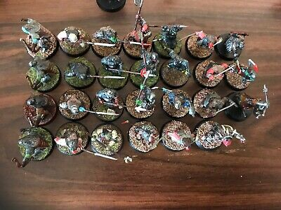 lord of the rings miniatures Orcs Hord With Captain