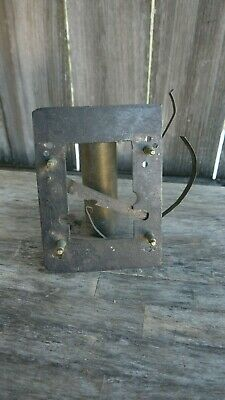 antique tall case clock dial false mounting plate