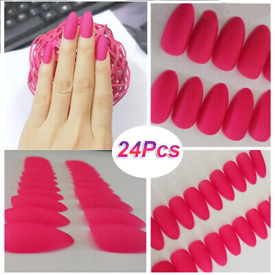 Extensions Self-Adhesive Fake Nail Manicure Tools Stiletto Tips False Nails