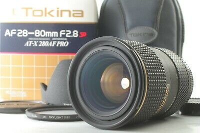 【Almost MINT in BOX TESTED】Tokina AT-X PRO AF 28-80mm f/2.8 SD ASPH IF For Nikon