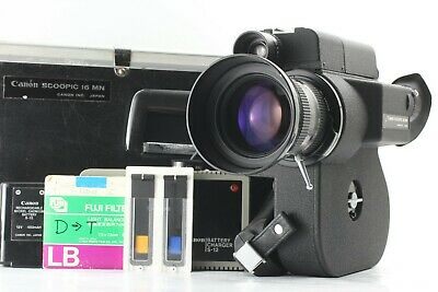 【CLA'd MINT NEW BATTERY】 Canon Scoopic 16MN 16 MN Film Movie Camera from JAPAN