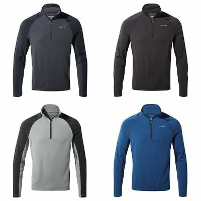 Craghoppers Mens First Layer Half Zip Thermal Base Layer CMT893
