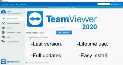 TeamViewer 15.1 - Full updates - Latest Version for PC - Download Version -ESD