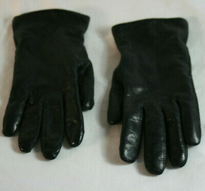 Wilson's Genuine Leather Cashmere Lined Gloves Women's L Winter Black Driving